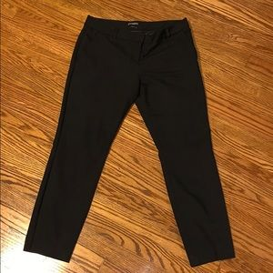 Low Rise Columnist Ankle Pant
